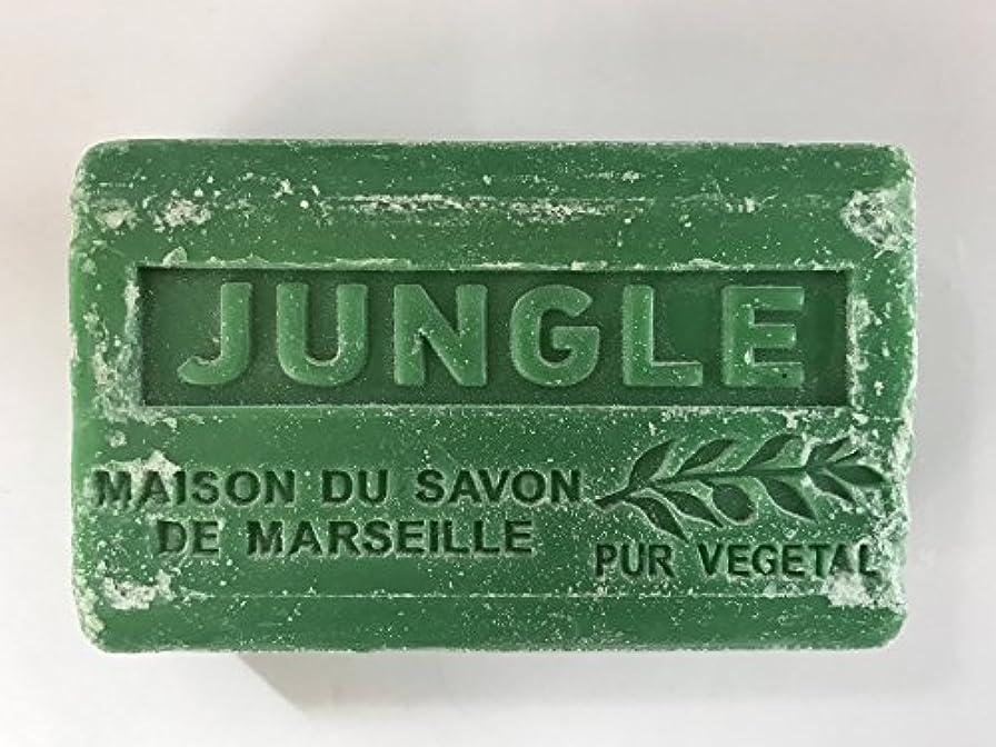 ダニ服を着る北米Savon de Marseille Soap Jungle Shea Butter 125g