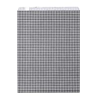HEIKO 紙袋 平袋 Rタイプ R-10 ギンガムミニ スミ 200枚/62-0963-40