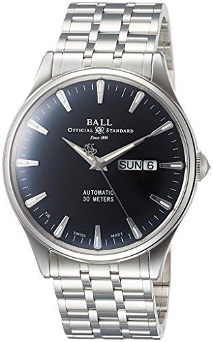 [ボールウォッチ]BALLWATCH 腕時計 トレインマスター エタニティ ブラック文字盤 自動巻 NM2080D-SJ-BK メンズ 【並行輸入品】