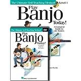 Play Banjo Today! Beginner's Pack: Level 1 Book/Online Audio/DVD Pack (Ultimate Self-Teaching Method!)