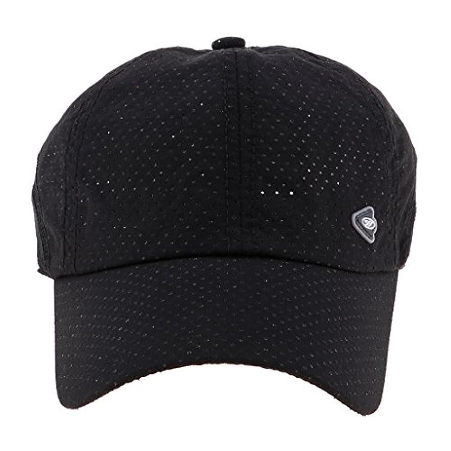 ロードハウス覚醒ほとんどないPerfeclan 速乾帽 野球帽 キャップ 男女用 調節可能 軽量 釣り サイクリング