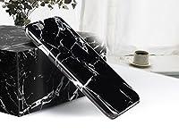 Fablcrew 安い柔らかい 黒大理石 電話ケース 超薄型 ト5.5インチ iPhone 6 Plus/ 6 S Plus携帯の殻