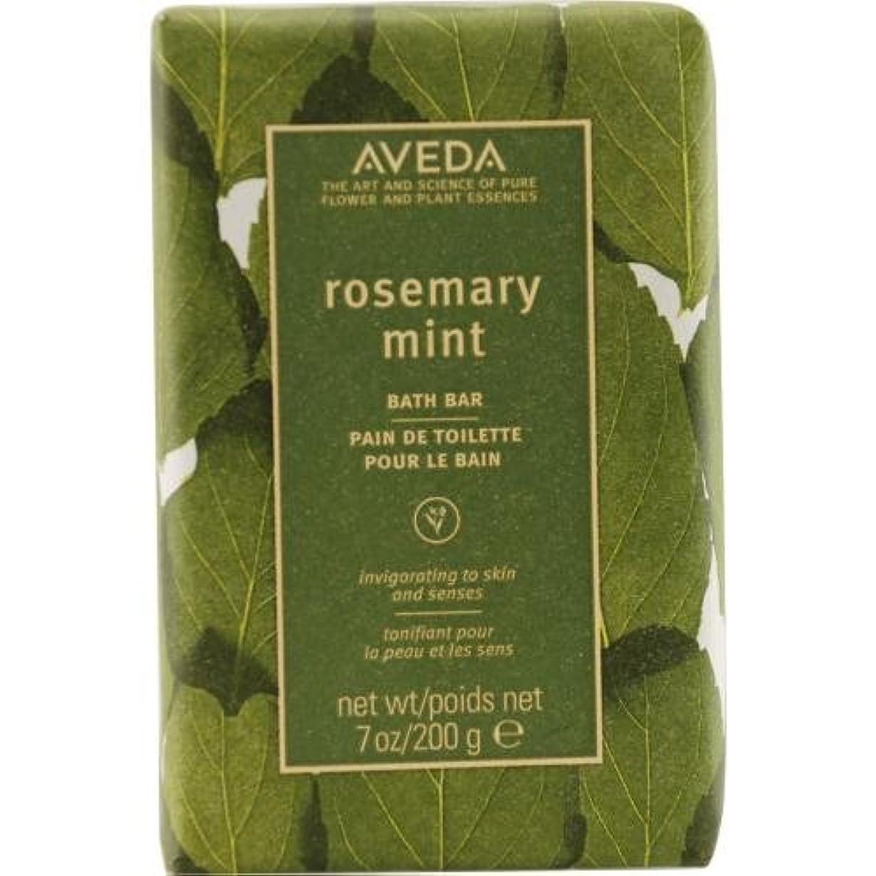ダイヤルみなさんしがみつくAveda Skincare Rosemary Mint Bath Bar, 7-Ounce Box