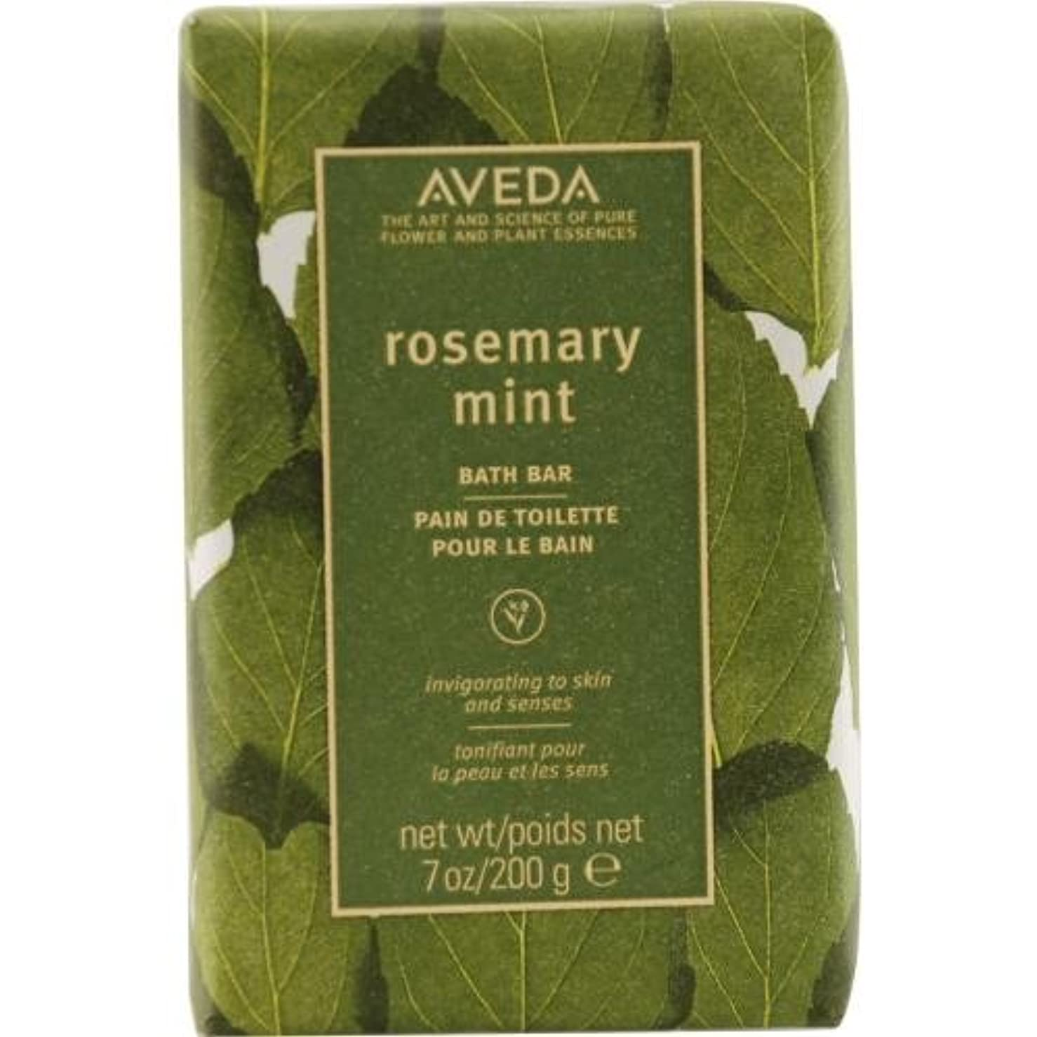 近々生き残りブルーベルAveda Skincare Rosemary Mint Bath Bar, 7-Ounce Box