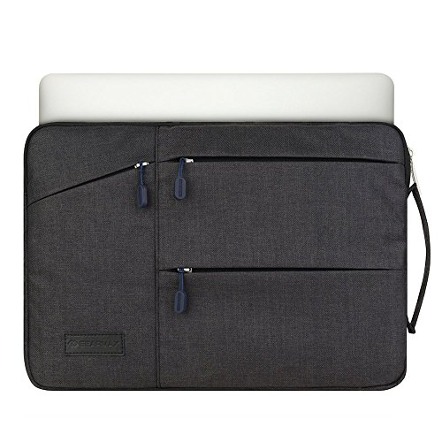 Yarrashop PC収納用インナーケース ノートパソコン ケース macbook pro 13/macbook air 13/Macbook Pro Retina 13 13.3インチ対応 撥水加工 ブラック