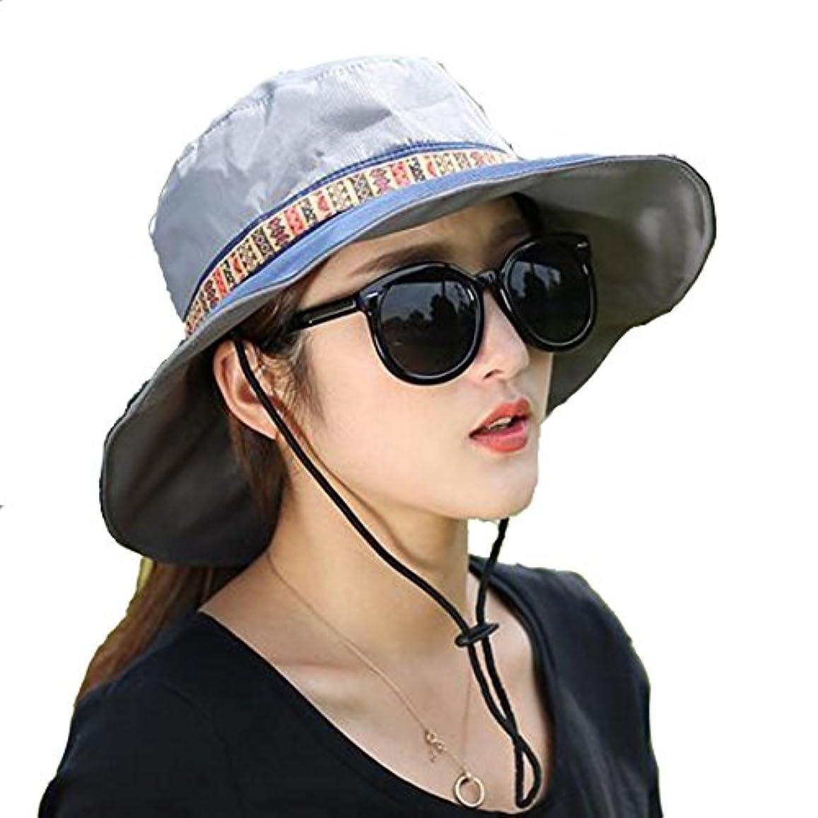 シアー豆ミルLittle椅子メンズレディースアウトドアSPF 50 + UV保護太陽登山釣りキャップバケットBoonie Hat