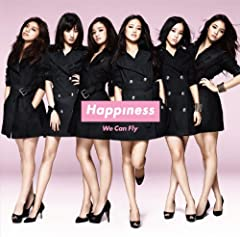 We Can Fly♪HappinessのCDジャケット