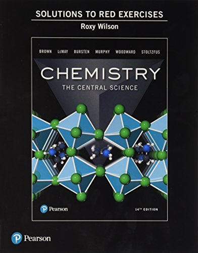 Download Student Solutions Manual to Red Exercises for Chemistry: The Central Science 0134552237