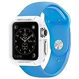 Apple Watch ケース, Spigen? アップル ウォッチ (42mm) ラギッド・アーマー 液晶保護フィルム 2枚入 【国内正規品】 (2015) (ホワイト【SGP11497】)