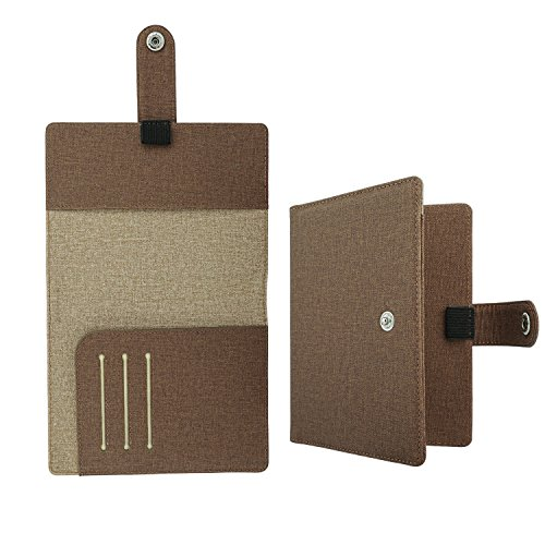 [해외]여권 케이스 - ATiC 다기능 수납 포켓 안전한 해외 여행을위한 고급 PU 가죽 여권 커버 5.5 인치/Passport case - ATiC multifunction storage pocket Safe for overseas travel High class PU leather passport cover 5.5 inch