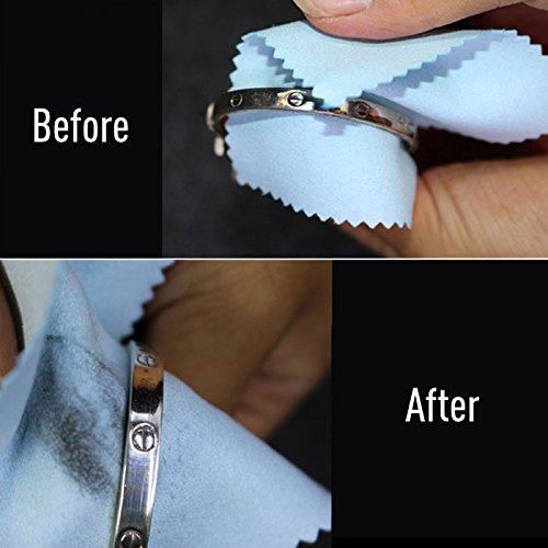 銀磨きクロス 銀磨き布 クリーニングクロス ポリッシュ 3枚入