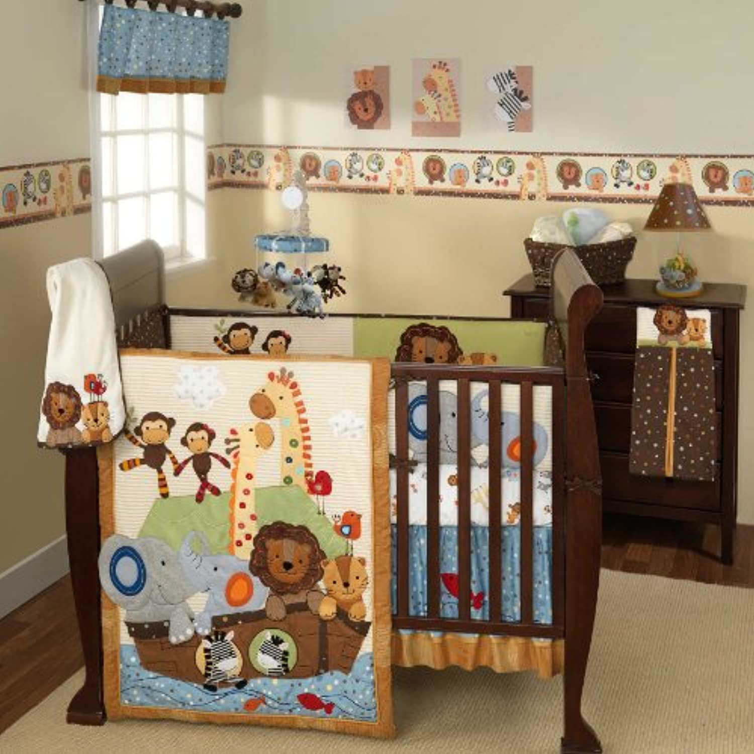 Lambs & Ivy S.S. Noah 5 Piece Bedding Set by Lambs & Ivy
