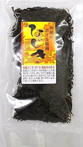 沖縄塩蔵ひじき 100g×24P 座間味こんぶ 保存に便利な塩蔵タイプ ビタミン・カルシウム・鉄分・食物繊維たっぷり 女性や妊婦さんにおすすめの栄養食品