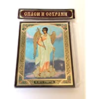 GUARDIAN ANGEL RUSSIAN ORTHODOX ICON by BuyRussianGifts [並行輸入品]