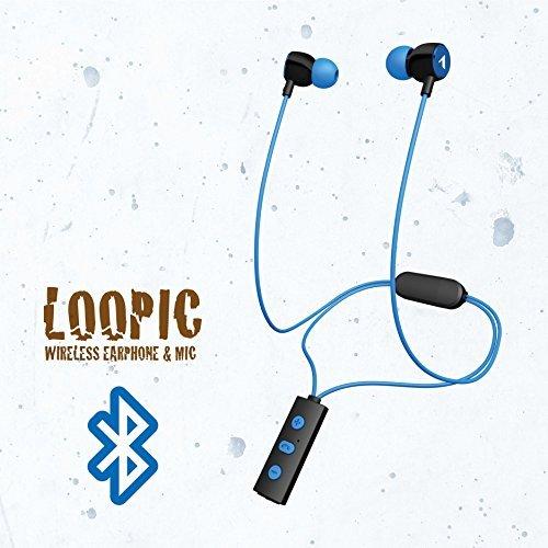 ALPEX アルペックス  Bluetoothイヤホン ネックループ型 ワイヤレスイヤホン ブルー BTN-A2500PB