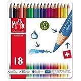 カランダッシュ 水彩色鉛筆 ファンカラー18色セット