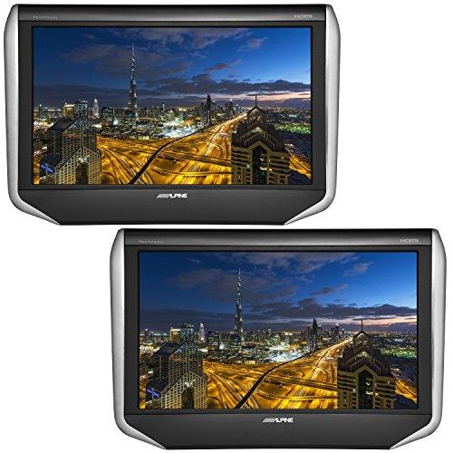 アルパイン(ALPINE) 10.1型 WXGA液晶 HDMI ヘッドレストモニター シートバック・リアビジョン(2台パック) S...