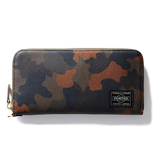 (ヘッド・ポーター) HEADPORTER OTUN WALLET (L) DARK GREEN
