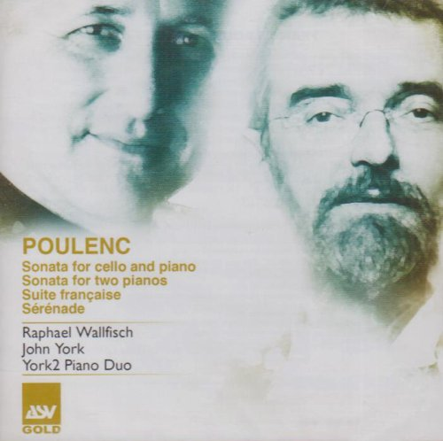Poulenc: Cello Sonata/2 Pianos