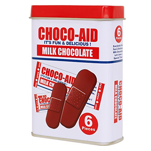 恋の病には絆創膏型のチョコ、「チョコエイド」