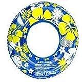 とってもかわいい!ハワイアン浮き輪 51cm (ブルー)