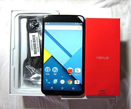 ★話題商品★ Google Nexus 6 / ネクサス 6 本体 米国モデル XT1103 SIMフリー [並行輸入品] (32GB, ダークブルー)