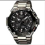 CASIO カシオ G-SHOCK G ショック MR-G MRG-G1000D-1ADR メンズ 腕時計 ブラック シルバー オレンジ GPSハイブリッド電波ソーラー[海外直発送]