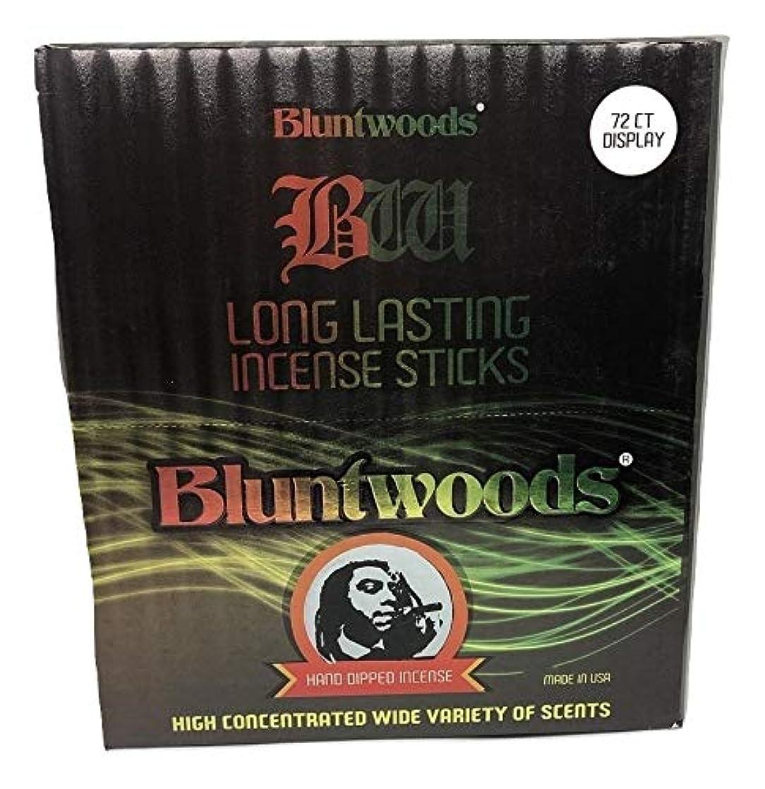 ライナー見落とすエネルギーBLUNTWOODS Blunt Woods 手染め お香ディスプレイ (72カウントアスト) 合計864 お香スティック