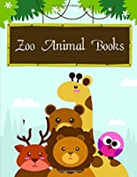 Zoo Animal Books: coloring pages with funny images to Relief Stress for kids and adults (Animals manga)