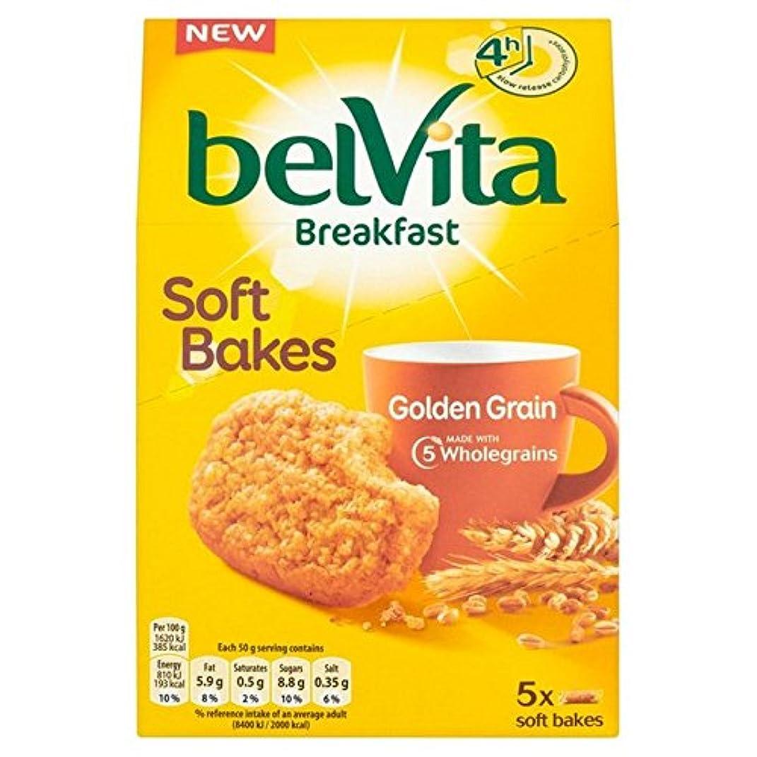 不毛のフレアアンタゴニストBelvita Soft Bakes Golden Grain 250g - (Belvita) ソフトは、黄金の穀物250グラムを焼きます [並行輸入品]