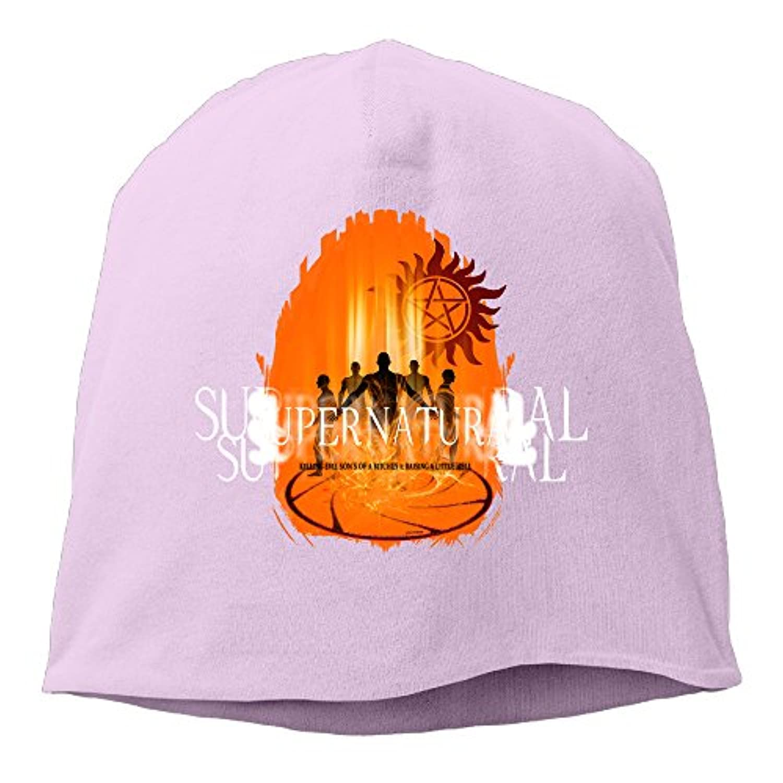 【Dera Princess】ユニセックス ニット帽 Supernatural Devils Cageロゴ コットン ニットキャップ 帽子 オールシーズン 被れる