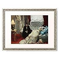 Gervex, Henri 「Returning from the Ball. 1879」 額装アート作品