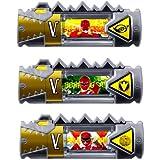 獣電戦隊キョウリュウジャー カプセル 獣電池 11 レンジャー3種