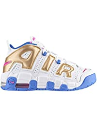 (ナイキ) Nike Air More Uptempo ガールズ・ジュニア・小学生 バスケットボールシューズ
