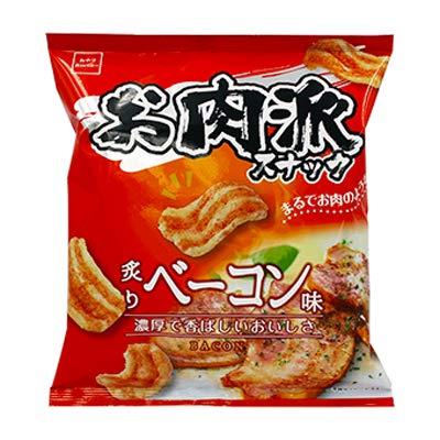 おやつカンパニー お肉派スナック(炙りベーコン味)の通販の画像