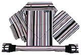 北極しろくま堂 昔ながらのおんぶひも 背当て頭あてつき コム/モノブラック(総柄) 本体:綿100% ON-50-X-3140