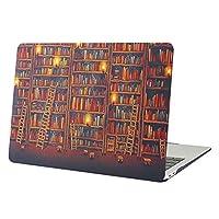 YMIX MacBook Pro 13ケース 2016-2019発売 MacBook Pro 13 ハードケース MacBook Pro 13カバーシンプル ファッション マックブックケース人気13インチパソコンケース 傷防止耐久性 ゴム足排熱 薄型軽量(対応モデル:[A1706] タッチバー/[A1708] タッチバー無し/A1989/A2159)書架