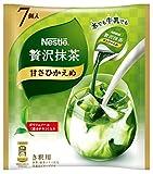 ネスレ 贅沢抹茶 ポーション 甘さひかえめ 7個×12袋