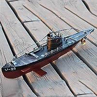 DUOLUO 創造的な軍事潜水艦のモデル鉄工芸の装飾窓の撮影の小道具クリエイティブホームギフト