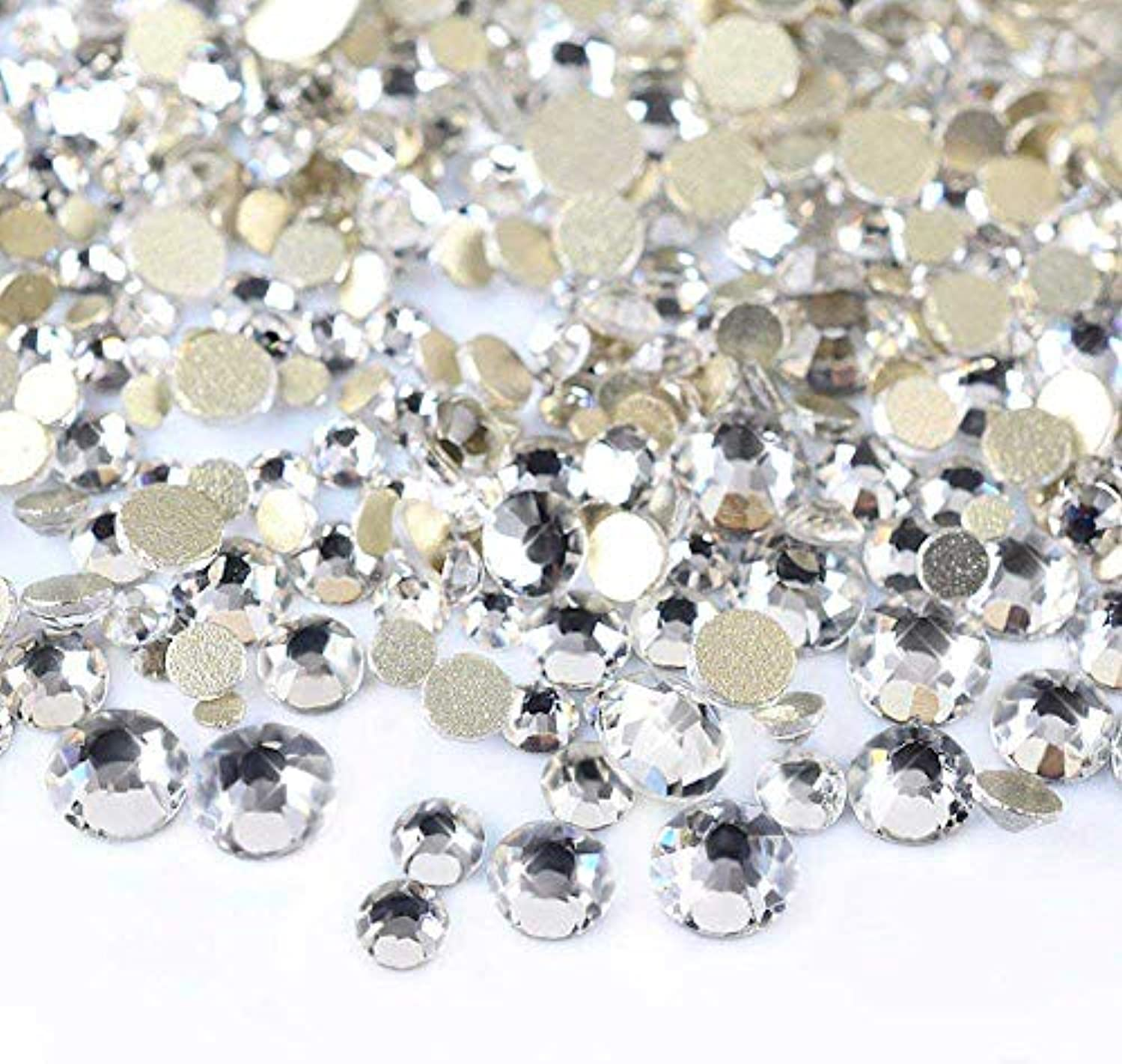 拒絶するパシフィック切断するTigre Amore ラインストーン ネイル用ストーン ガラス 製 大容量 5000粒 セット