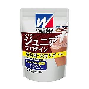 ウイダー ジュニアプロテイン ココア味 240...の関連商品1