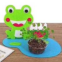 ハッピー小さな農場不織布ステッカー子供DIY手作りクリエイティブおもちゃ