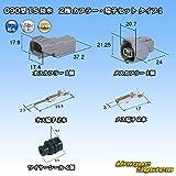 住友電装 090型 TS 防水 2極 カプラー・端子セット タイプ1