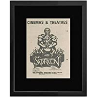 Satyricon - By Peter Benedict & Peter Collins Framed Mini Poster - 22.8x17.7cm