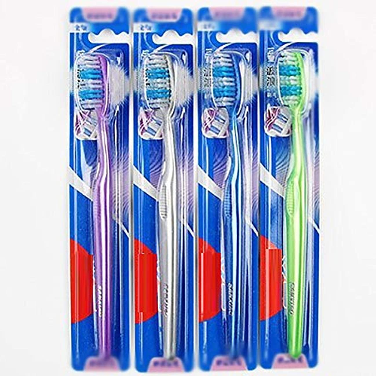 と組むミニチュアビュッフェ歯ブラシ 30歯ブラシ、快適な柔らかい歯ブラシ、大人歯ブラシ - 使用可能なスタイルの2種類 KHL (色 : B, サイズ : 30 packs)