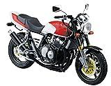 青島文化教材社 1/12 バイクシリーズ No.55 ホンダ CB400SF カスタムパーツ付き プラモデル