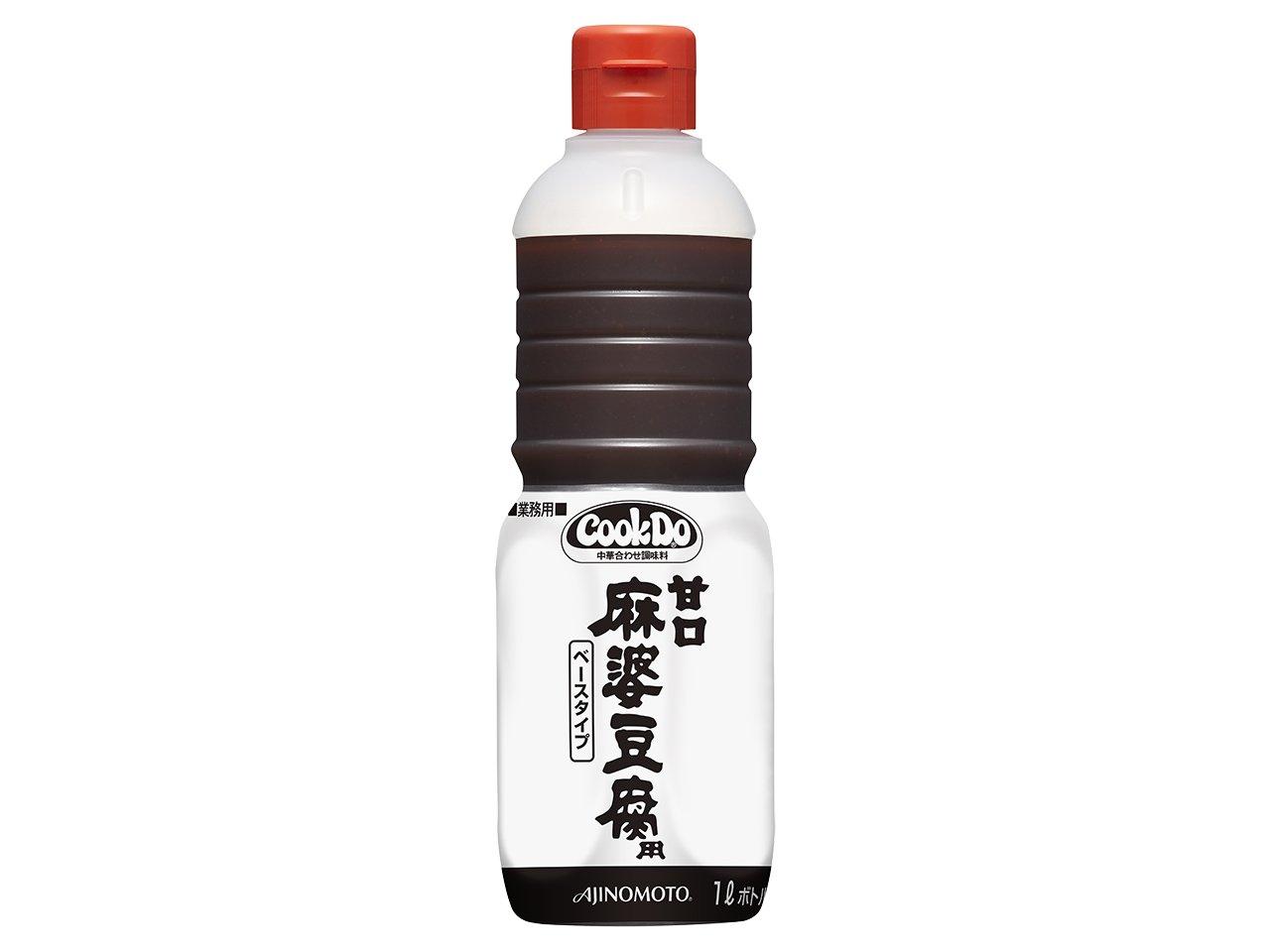 業務用 CookDo甘口麻婆豆腐ベース 1L×6