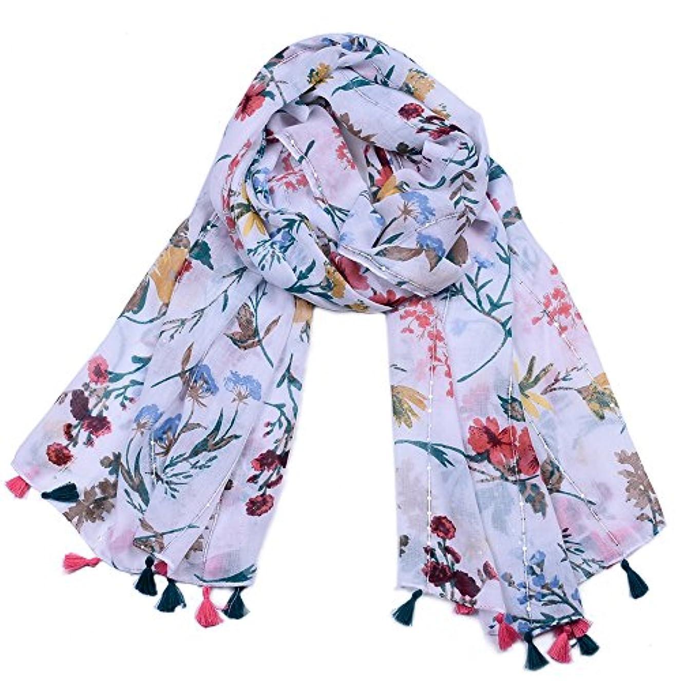 スタック章元気なXZP 春夏と秋のスカーフ、花柄のプリント、レディースショールズVoileイベントイブニングドレスウェディングパーティー素敵なギフト