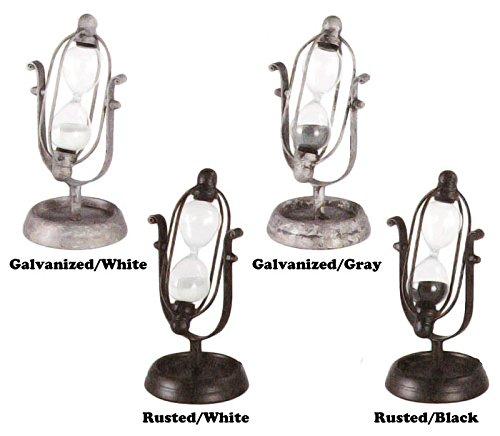 RoomClip商品情報 - 宇宙を連想させるようなデザインの砂時計【DULTON GS455-229 Astro hourglass(S) ダルトン アストロアワーグラス(S)】 (Galvanised/Gray)