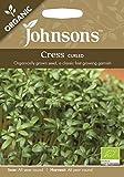 【輸入種子】 Johnsons Seeds Organic Cress Curled クレス・カールド・オーガニック ジョンソンズシード